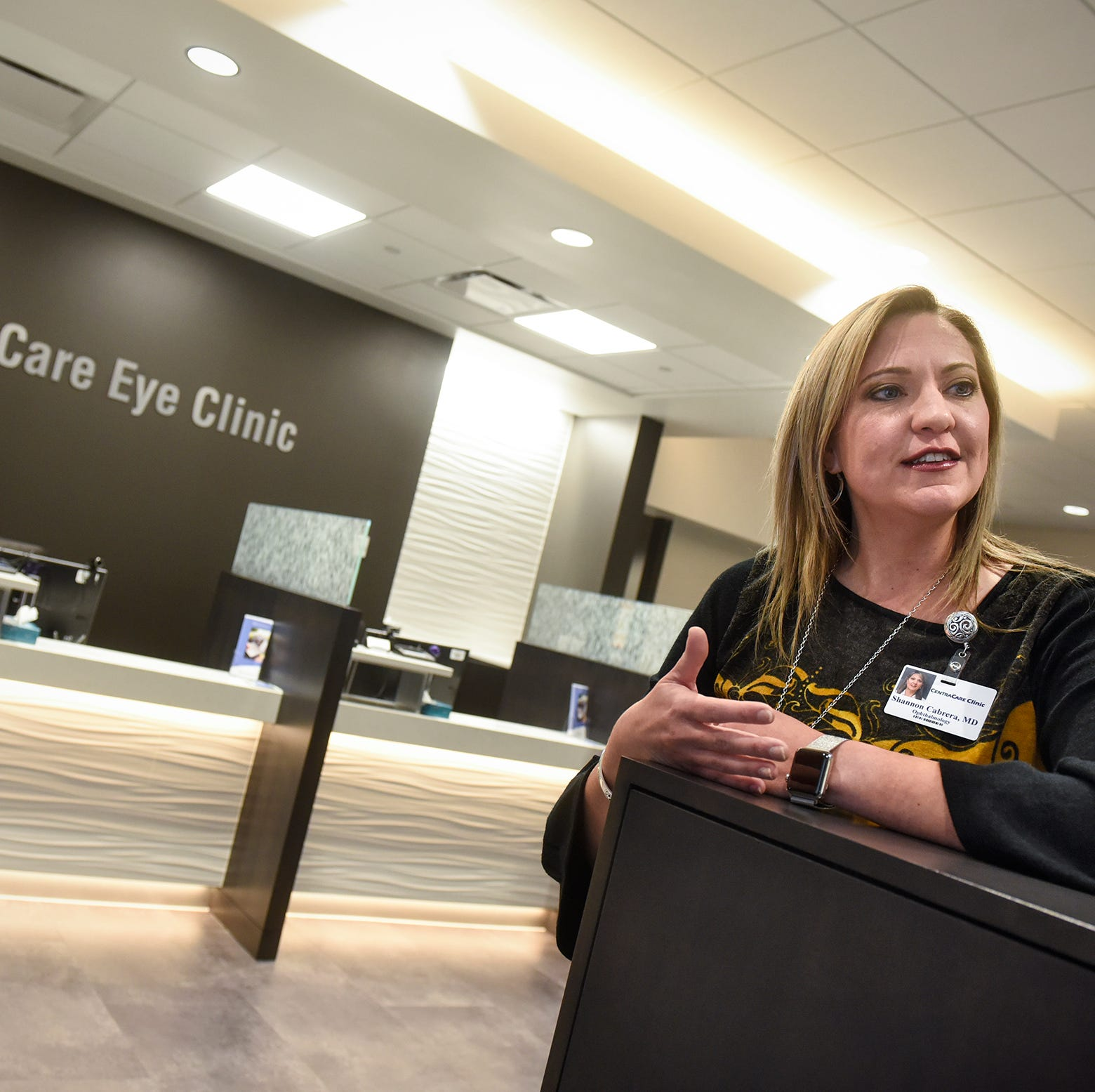 Take a peek at CentraCare's new eye clinic in Sartell