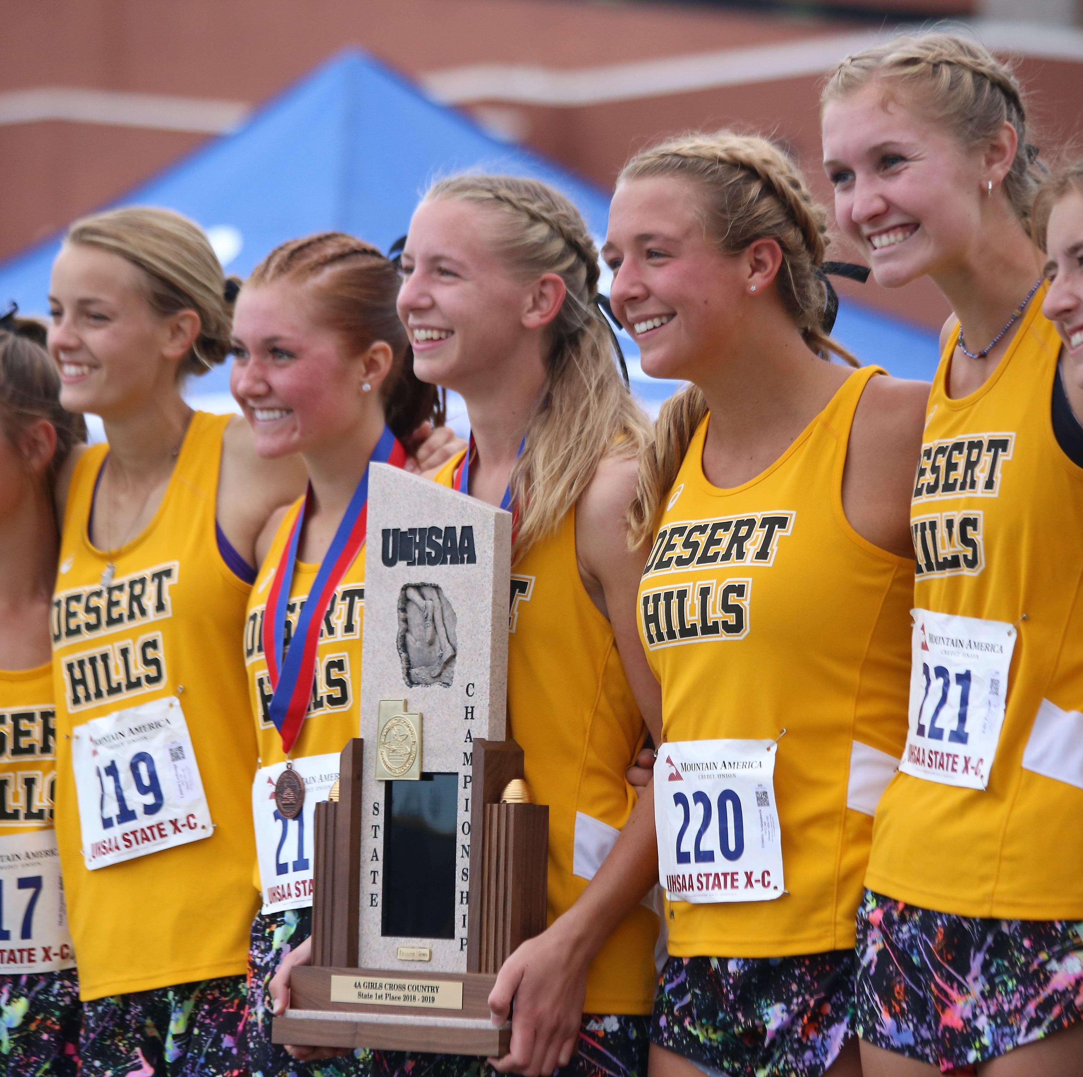 Desert Hills girls win 4A cross country title