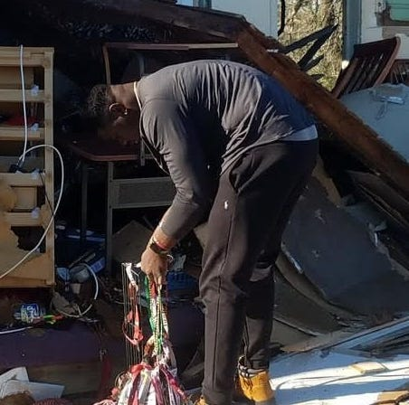 Janarius Robinson GoFundMe campaign finds success after loss of house to Hurricane Michael