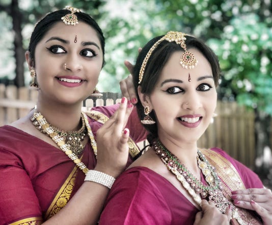 Nethra Left And Preeti Right