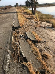 Erosion at Lighthouse Road