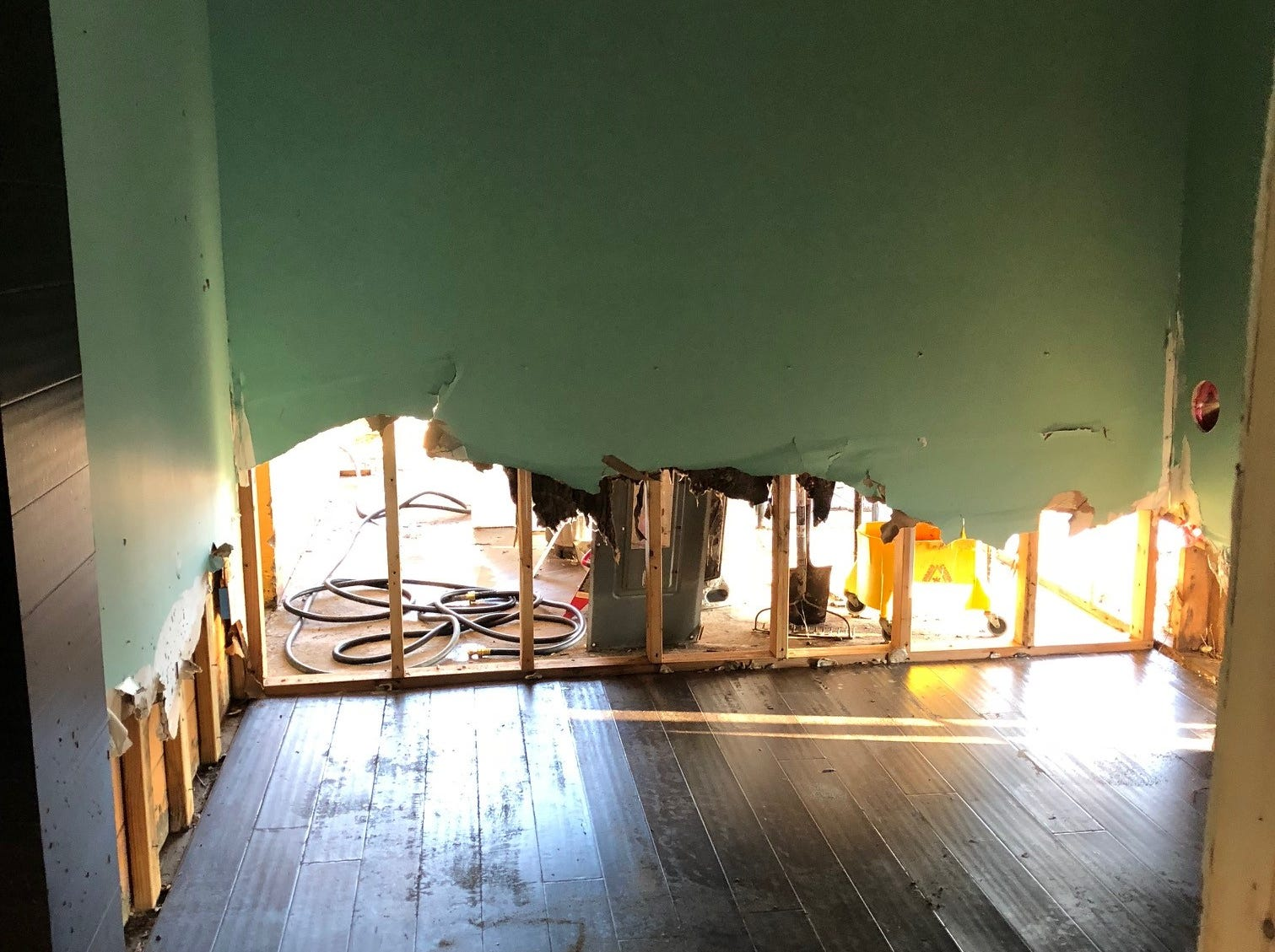 Eastpoint Beer Company was hit hard by Hurricane Michael.