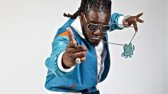 Rapper T-Pain will perform after the match-up on Saturday in Doak Campbell Stadium.