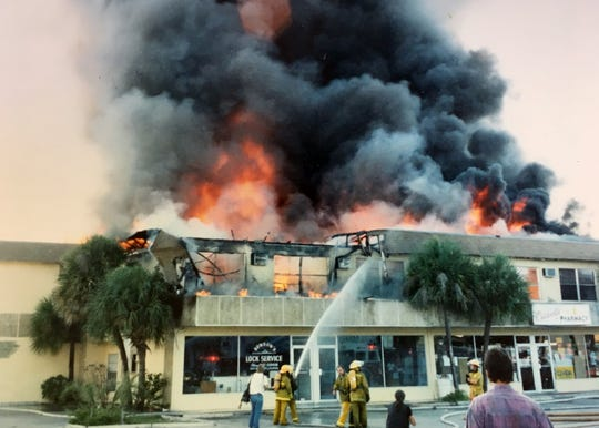 Osceola Pharmacy had to relocate temporarily in 1989 when a fire started in a second-floor apartment and and caused major damage to the business.