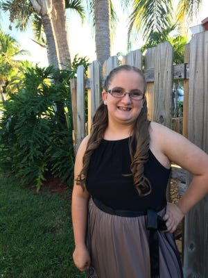 Mattison Wiggins, a sophomore at Jensen Beach High School, is Oct. 31's United Way of Martin County CHARACTER COUNTS! Student of the Week.