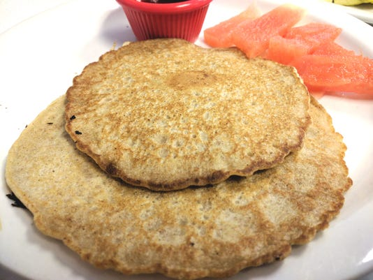 2 Red Bird Buckwheat Pancakes Renne