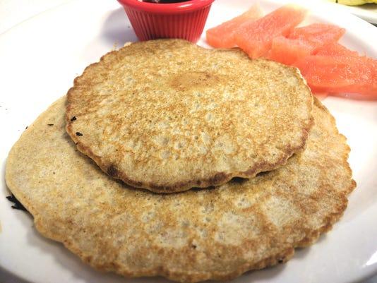 2 Red Bird Buckwheat Pancakes Renne