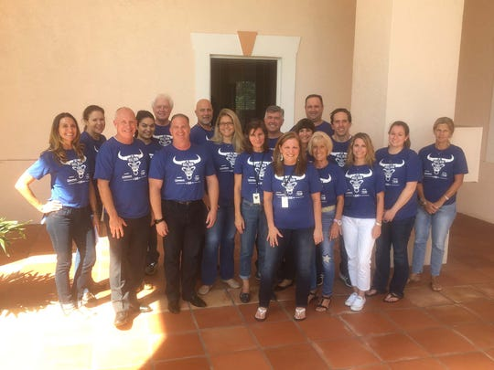 The team at Merrill Lynch Wealth Management in Stuart coordinated the Merrill Lynch Bull Run 5K to Fight Hunger.