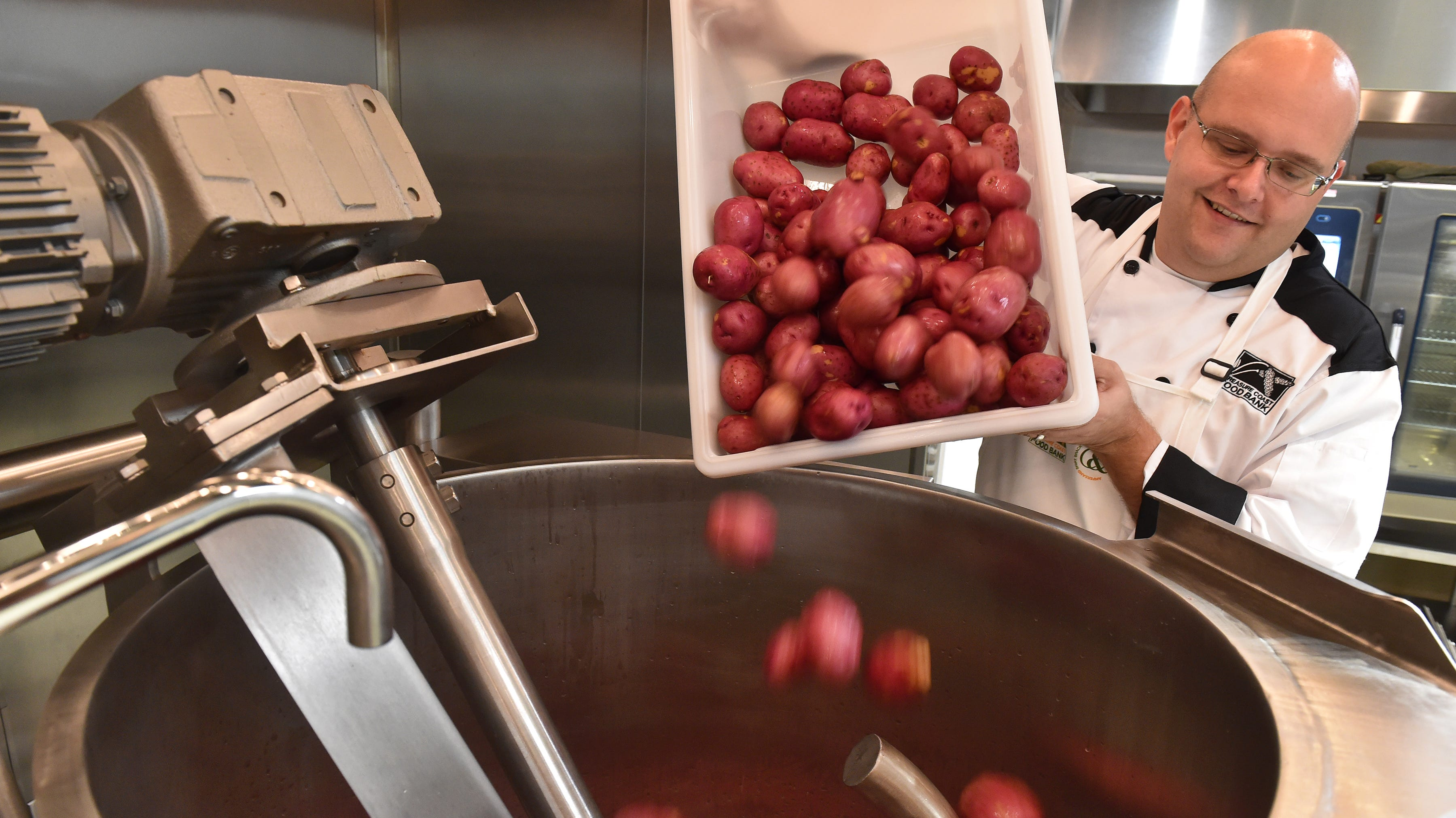 Treasure Coast Food Bank cooking up a new future with commercial plant