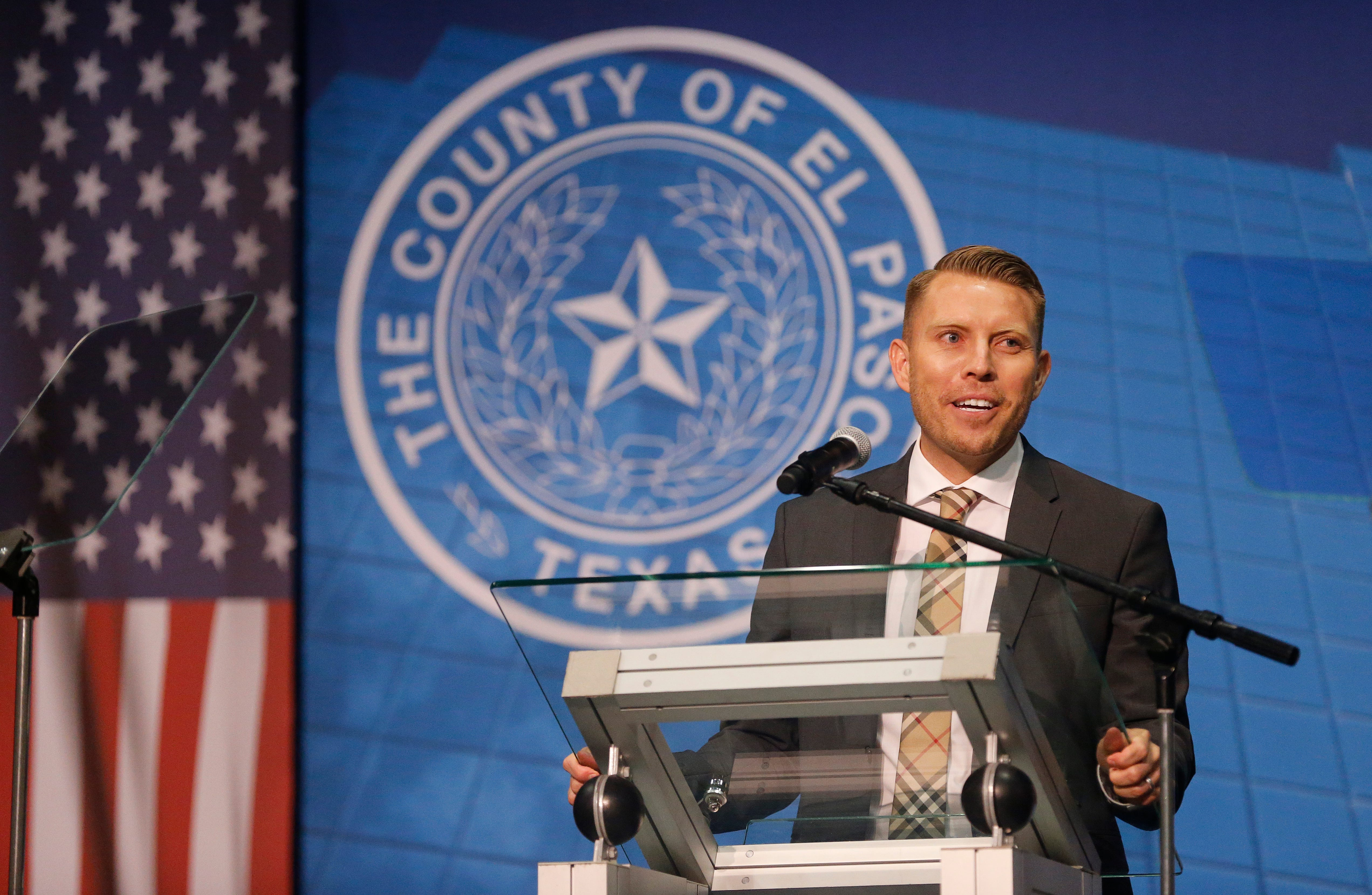 El Paso County Judge Ruben Vogt details successes, challenges in State of County address | El Paso Times