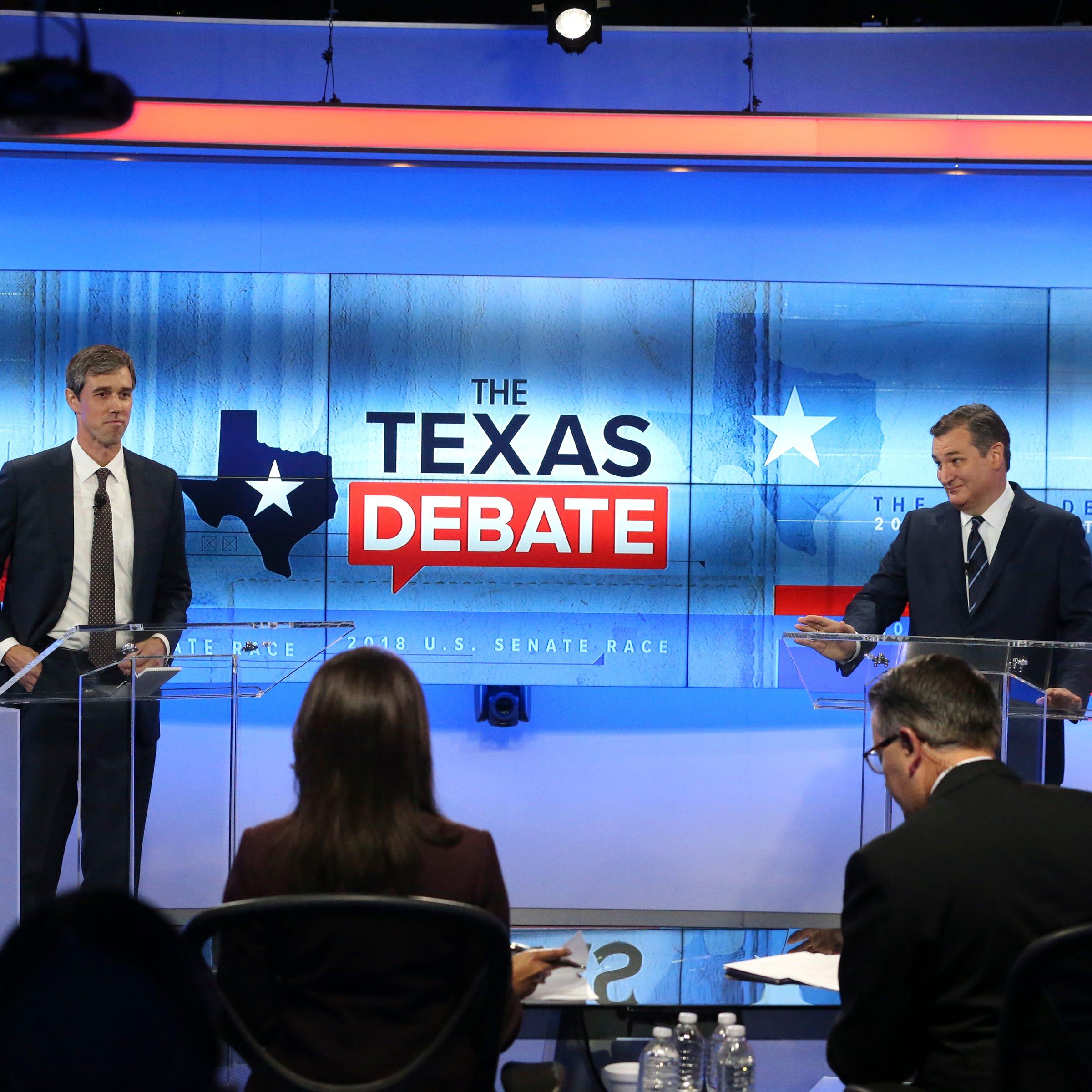 Beto-Cruz debate: Here's what happened in Ted Cruz, Beto O'Rourke's final debate