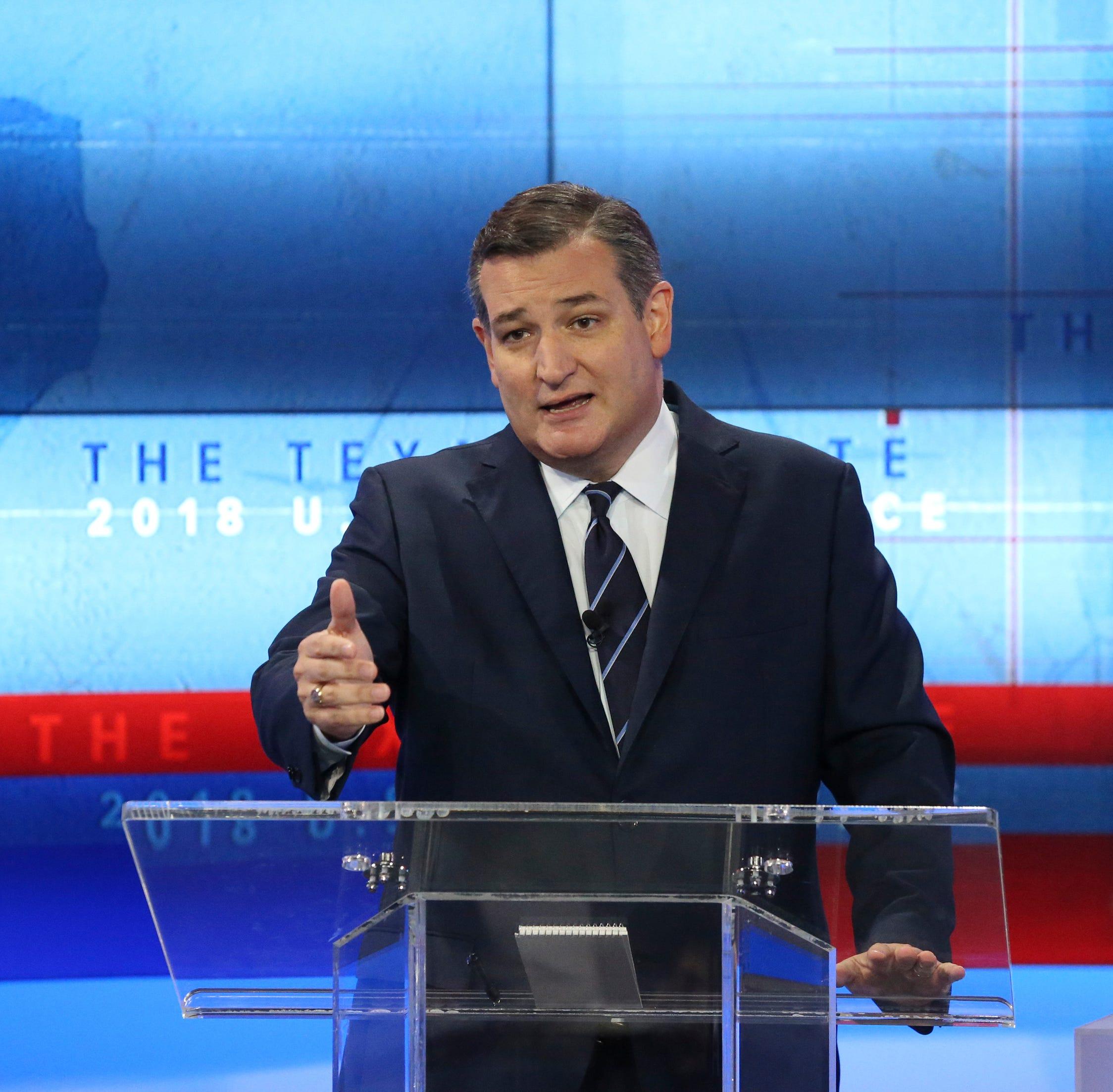 Ted Cruz says National Guard could stop migrant caravan at U.S.-Mexico border