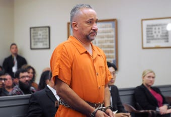 Isaias Garza appears in court on October 17, 2018. Garza has been charged with sexually assaulting two boys over almost five years, according to authorities.