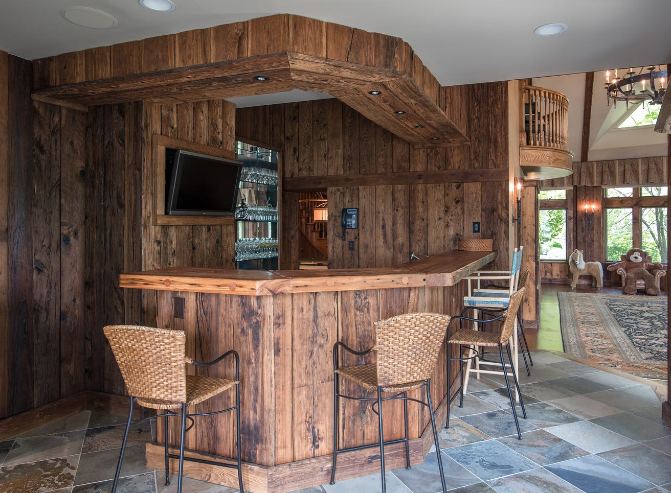 Derek Jeter's Tiedeman Castle on Orange County's Greenwood Lake is for sale.