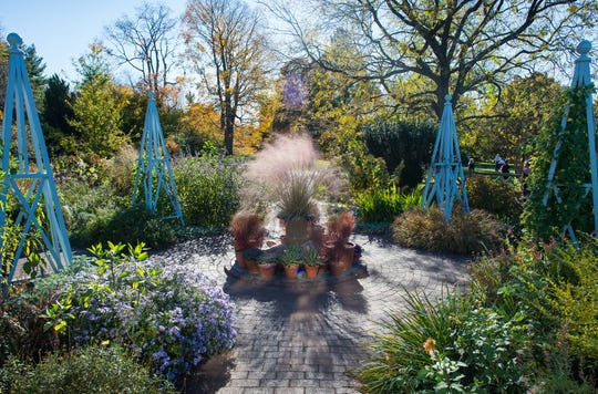 November is a wonderful time to visit the garden at Wave Hill.