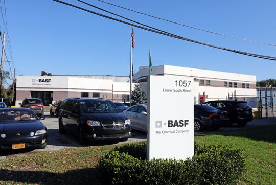 The BASF chemical company in Peekskill.