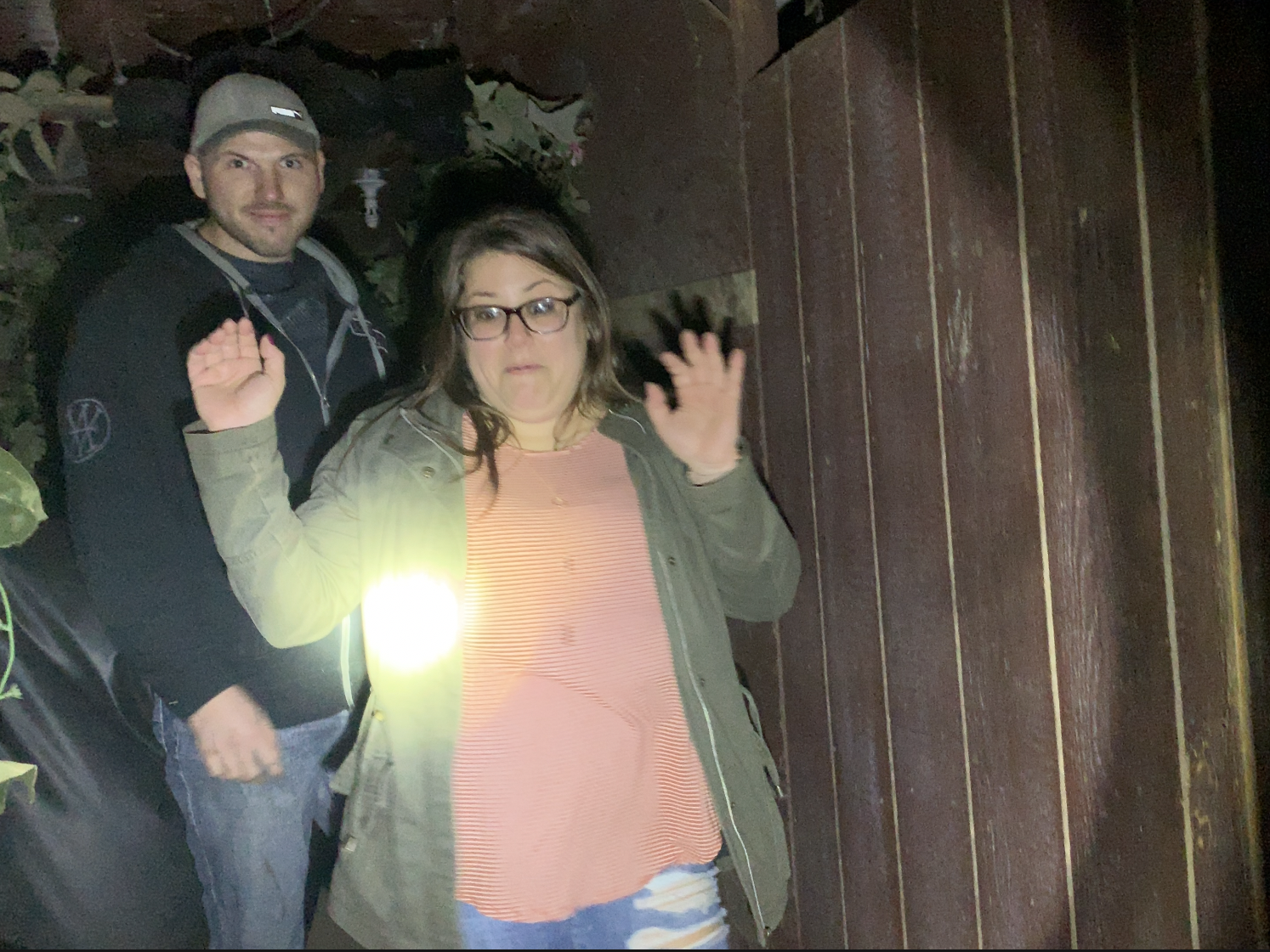 Scare-seekers get what they came for at Frightland on a Friday night