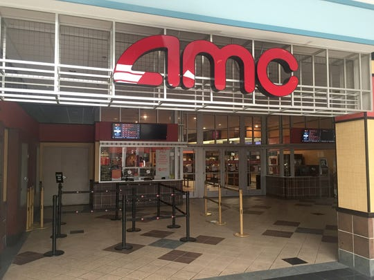 The AMC movie theater in the Dover Mall is about 25 miles from the site of a proposed nine-screen movie theater called Milford Movies.