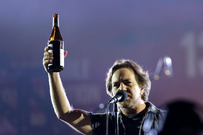 """Eddie Vedder says, """"Let's party!"""" Wilmington rock act MEGA will perform as Pearl Jam at a pair of upcoming Halloween rock shows in the city. The first is Saturday at Oddity Bar and then they come back for seconds Saturday, Oct. 27 around the block at 1984."""