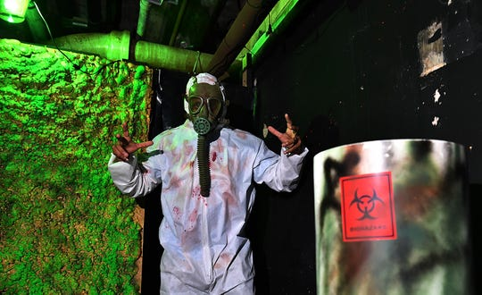 The Toxic Waste Room is hazardous in more ways than one at the Boys and Girls Club Chamber of Horrors. The haunted house is one of the longest running, marking its 40th year.