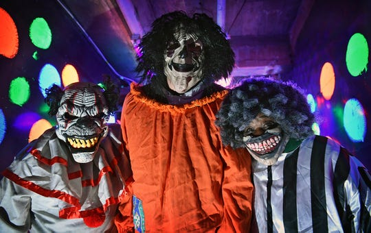 The Creepy Clown Room is one of more than a dozen situations waiting at the 40th Annual Chamber of Horrors at the Central Boys and Girls Club.