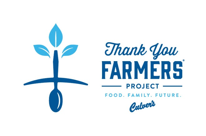 Culver's Thank You Farmers project logo