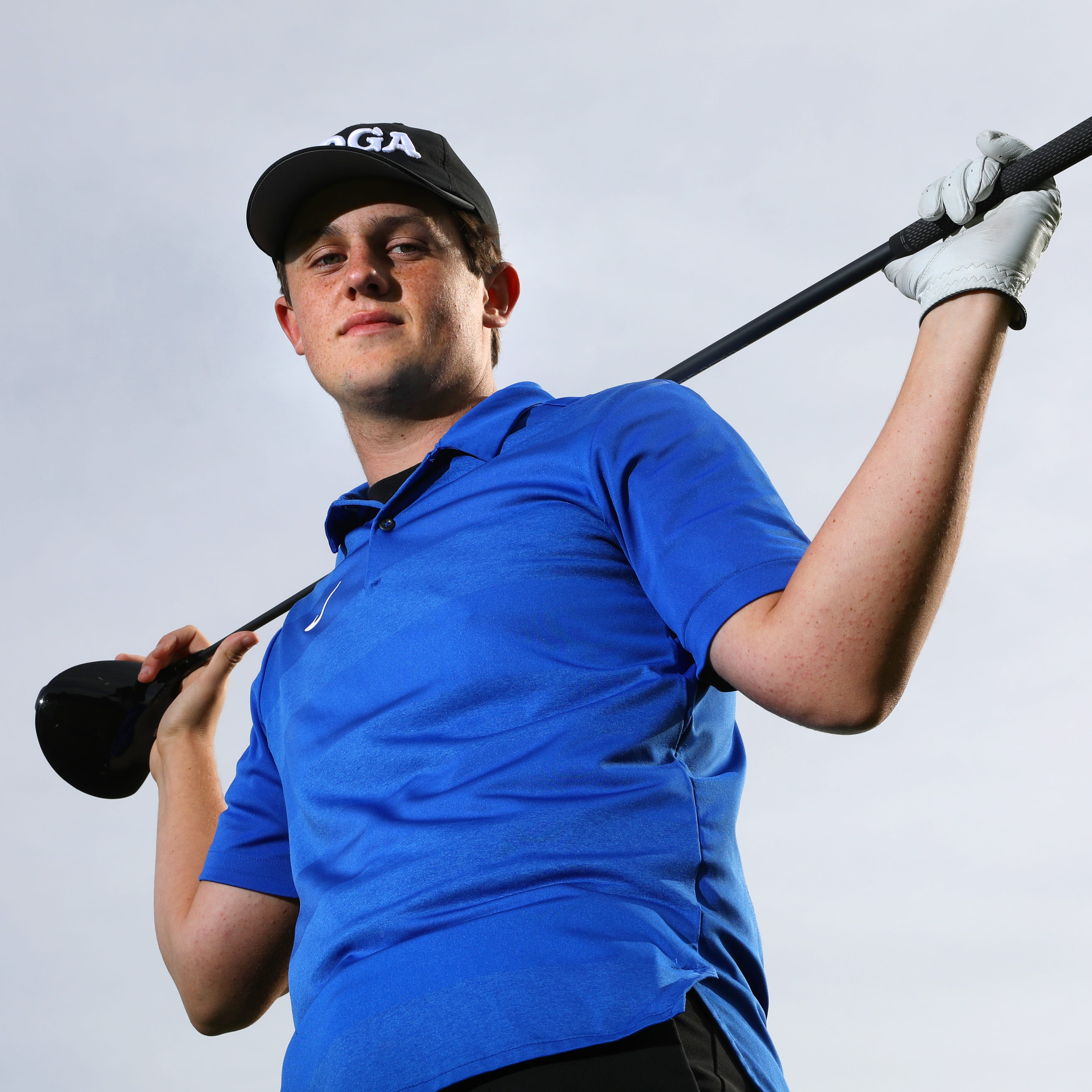 Maysville High School senior Luke Morrow is heading to the Division I state golf tournament on Friday.