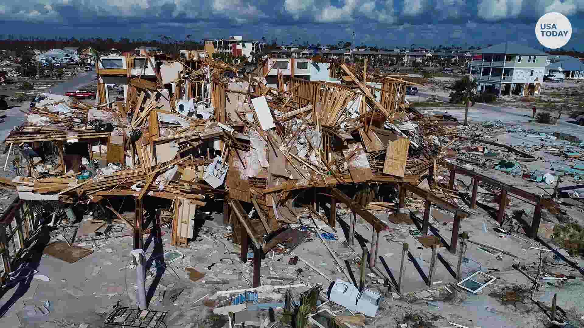 Hurricane Michael left Mexico Beach in shambles