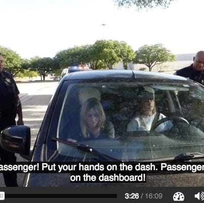 Texas students must watch a 16-minute video about how to react when stopped by police officers before graduating high school, according to the State Board of Education.