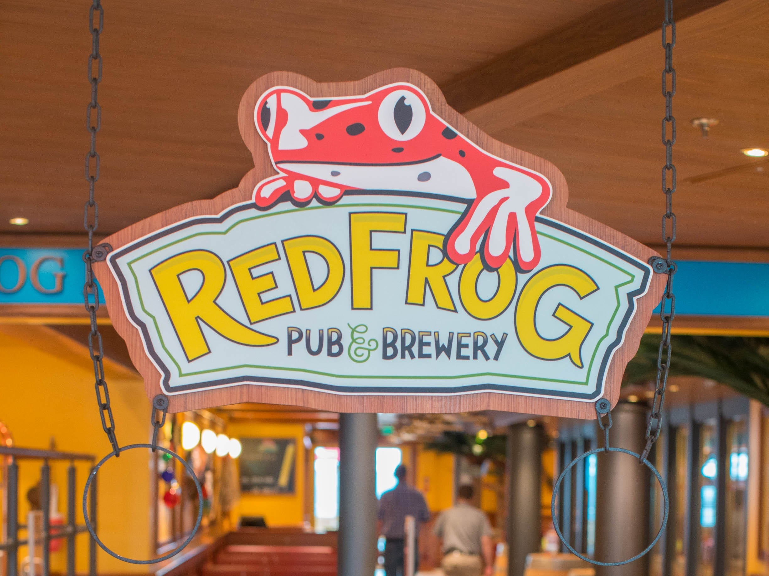 The RedFrog Pub & Brewery on Carnival Vista.