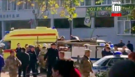 Ap Crimea Gas Explosion I Rus