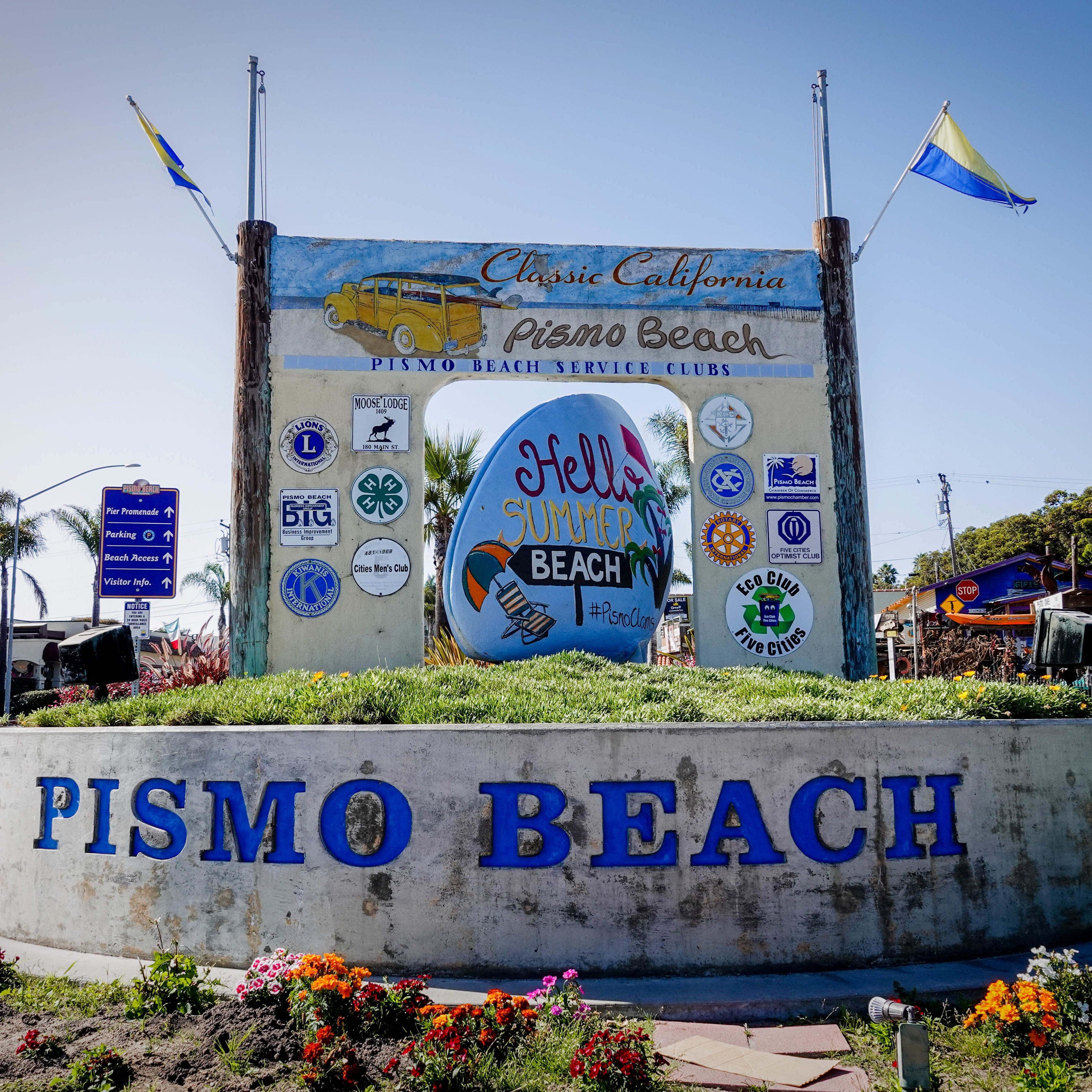 Welcome to Pismo Beach, the central California coastal town of 8,000 people, known for 18 miles of wide undeveloped coast, dramatic cliffs and caves and the ability to drive your car on the sand. Join us for a photo tour of Pismo Beach.