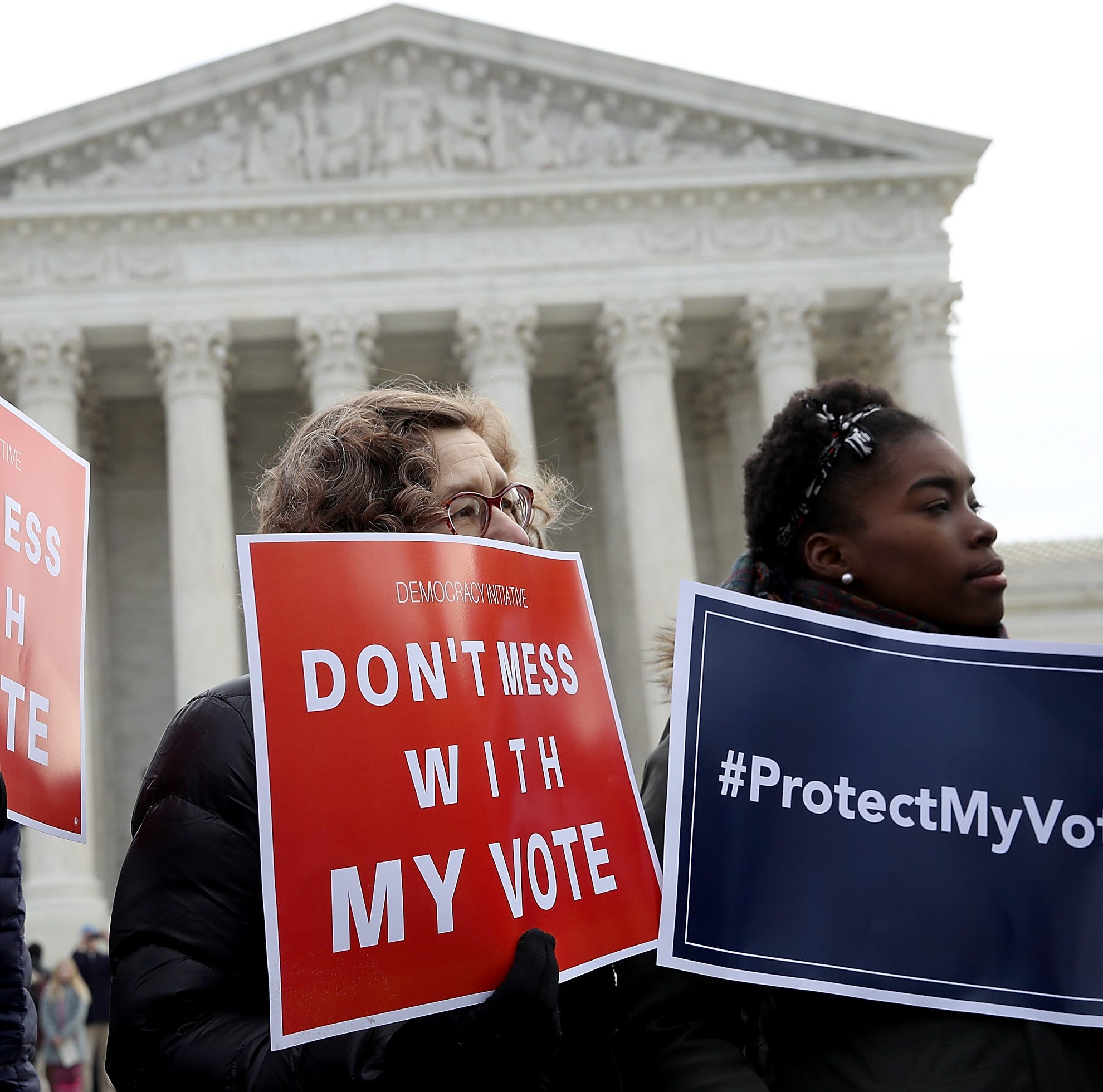 The real voter fraud is restricting a fundamental right
