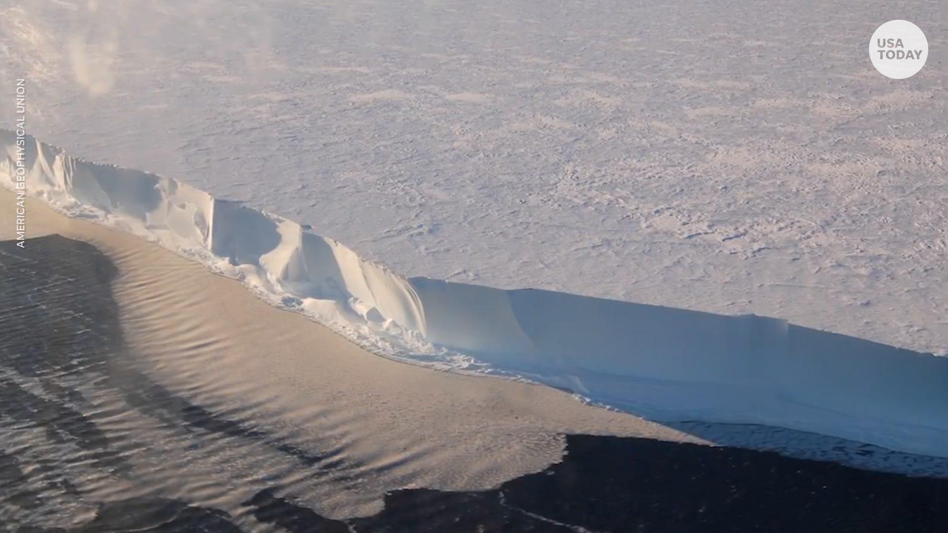 Eerie noises recorded from Antarctica's ice shelf