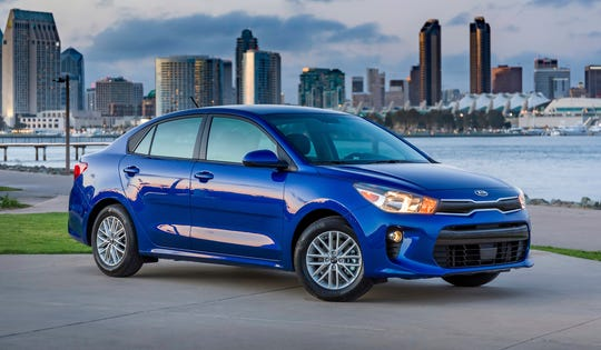 This Undated Photo Provided By Kia Shows The 2018 Rio Modern Subcompacts And Compacts