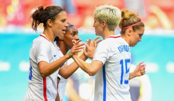 What I'm Hearing: USA TODAY Sports' Nancy Armour tells us what she knows regarding the women's national soccer team filing a lawsuit against U.S. Soccer.