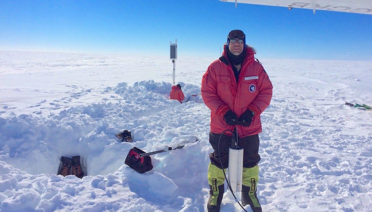 Listen to this: Weird, spooky noises heard in Antarctic ice shelf