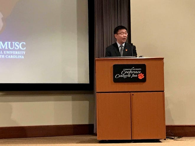 Hai Yao talks about Clemson's newest COBRE grant through the National Institutes of Health.