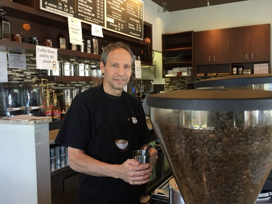 Larry Fisher, owner of Eagle Specialty Coffee in Eatontown.