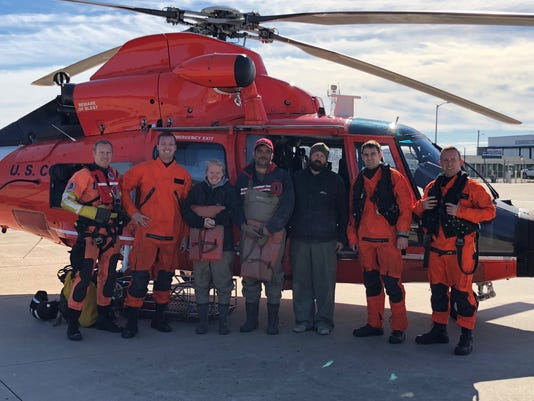 Coast Guard Rescues Stranded Boaters Near Egg Island Point Nj