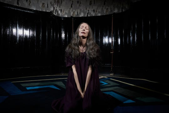 "Tilda Swinton as Madam Blanc stars in ""Suspiria."""