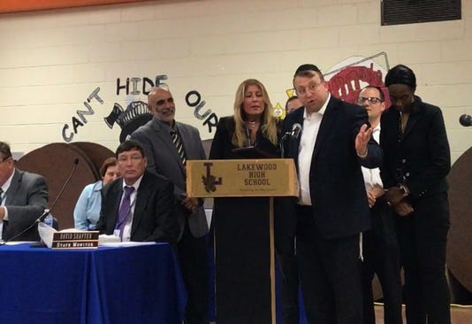 Lakewood schools honor superintendent