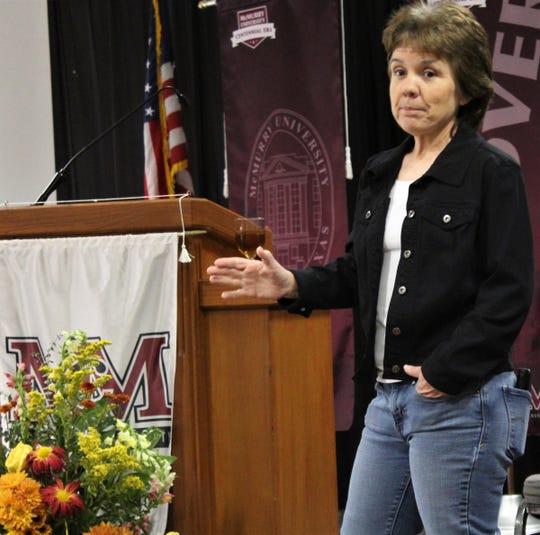Tammy Reese, a Women's Entrepreneurship Luncheon speaker Thursday at McMurry University.