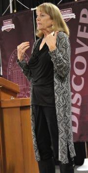 Denise Coulter, a Women's Entrepreneurship Luncheon speaker Thursday at McMurry University.