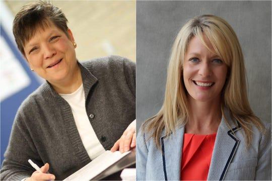 Glenda Weinert, left, and Amanda Edwards