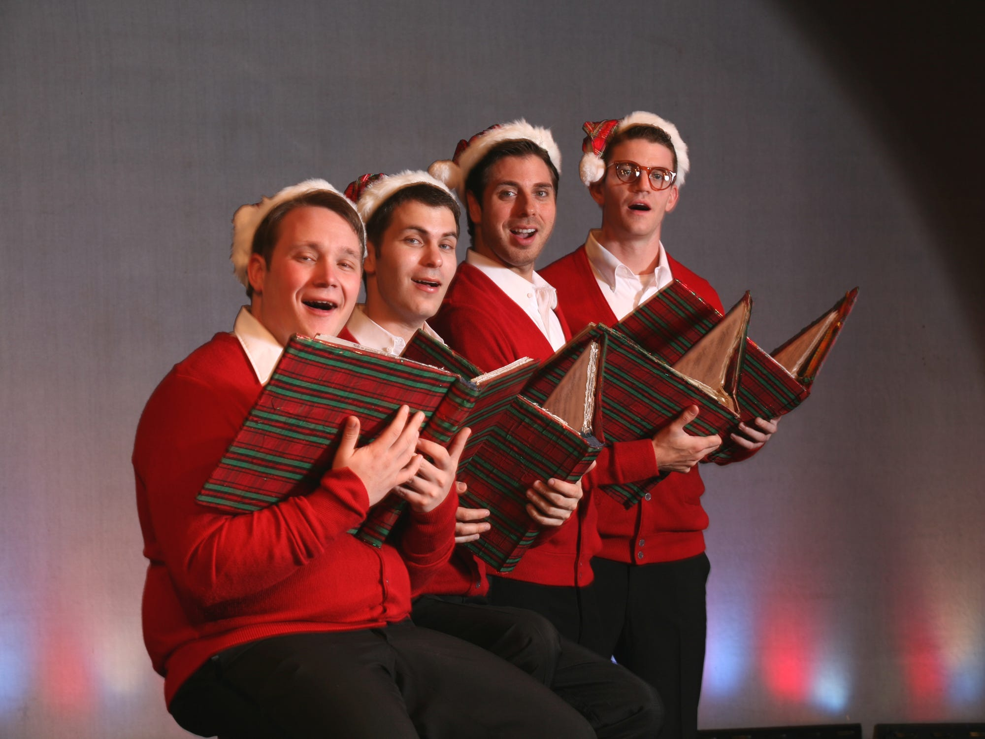 "Cider Mill Playhouse's  ""Plaid Tidings"" in 2008."