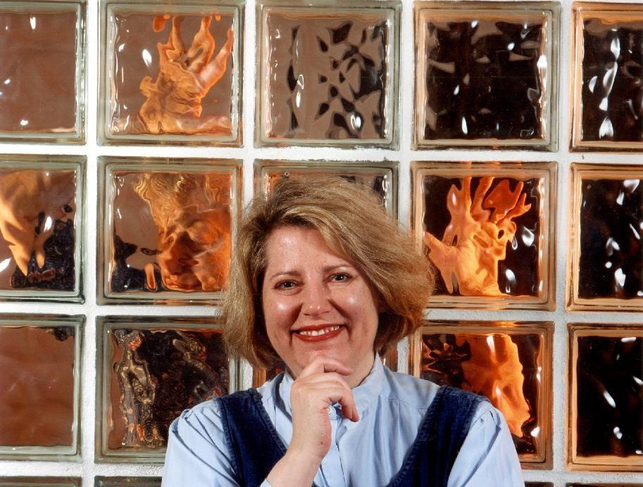 """Carol Hanscom in """"Marvin's Room""""  at Cider Mill Playhouse in 2001."""