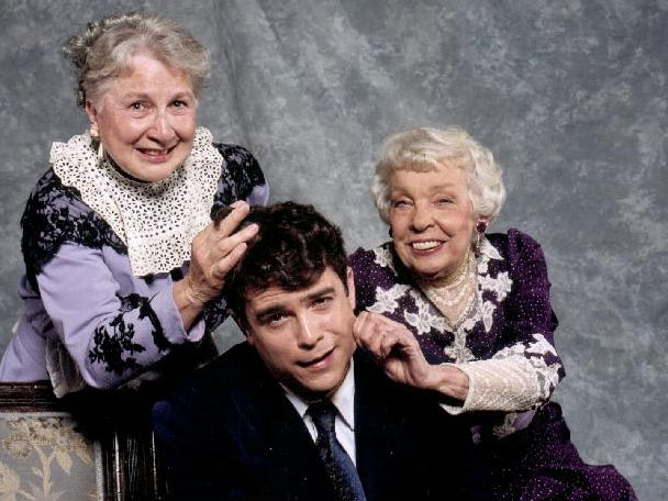 """Arsenic and Old Lace"" at Cider Mill Playhouse in 2000."