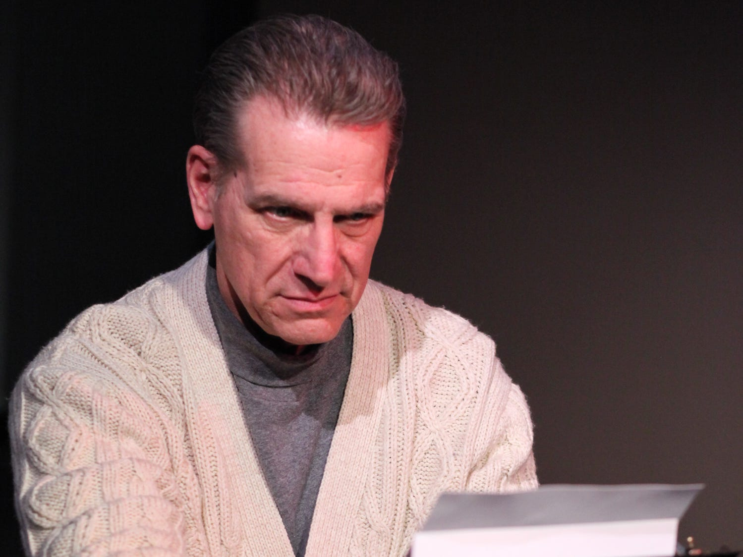 "Tom Kremer stars in the Cider Mill Playhouse production of ""Deathtrap"" in 2014."