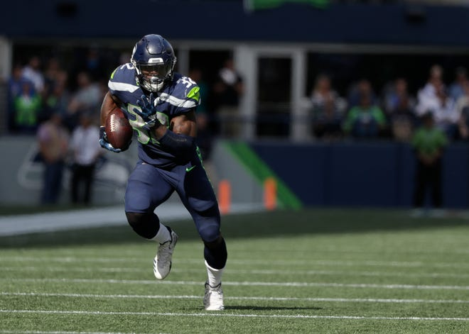 During a win over Dallas on Sept. 23, Chris Carson established himself as the Seahawks' lead running back. No more splitting carries just for the sake of doing so. Only when Carson needed a break would another back get their chance.